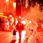 Perchtenlauf in Graz 2014: Schaurig präsentierten sich die Perchten