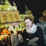 Grazer Rathaus: Kinderrechte-Aktion & Spielzeug Bilder für die Fassade