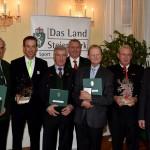 Sportverdienstzeichen für Funktionäre in der Grazer Burg