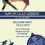 Swingin Graz Weekend 2016 – Programm