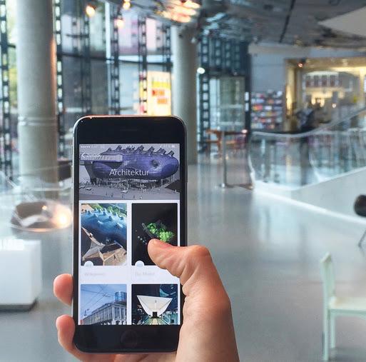 Der neue Kunsthaus-Audioguide fürs Smartphone, Foto: Universalmuseum Joanneum/P. Moser