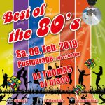 Best of the 80's – Best of the 80's Graz am 09.02.2019