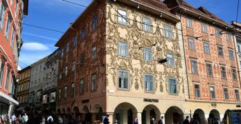 Das Luegg Haus im Grazer Zentrum