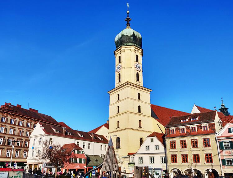 Die Franziskanerkirche in Graz