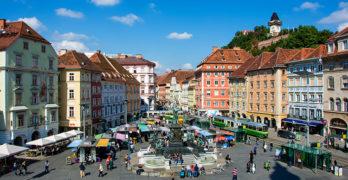 Der Grazer Hauptplatz