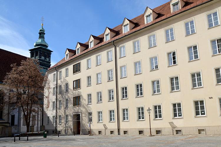 Innenhof der Grazer Burg