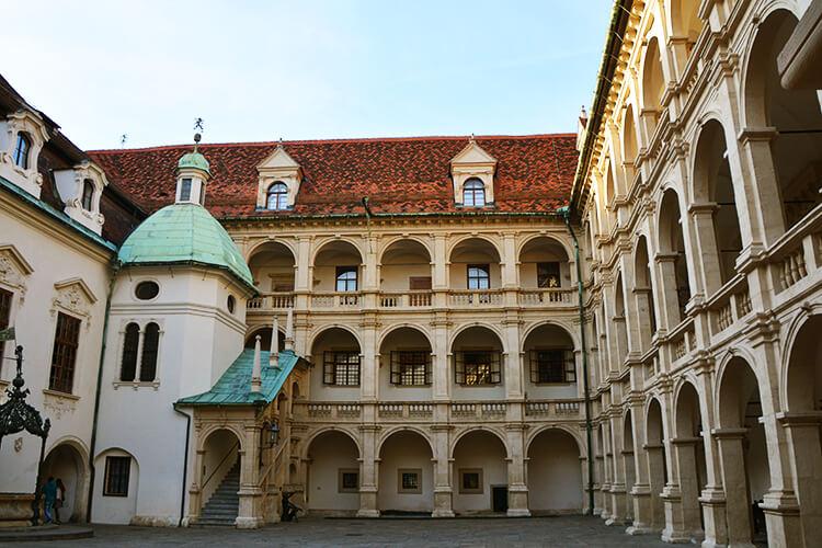 Der Landhaushof in Graz