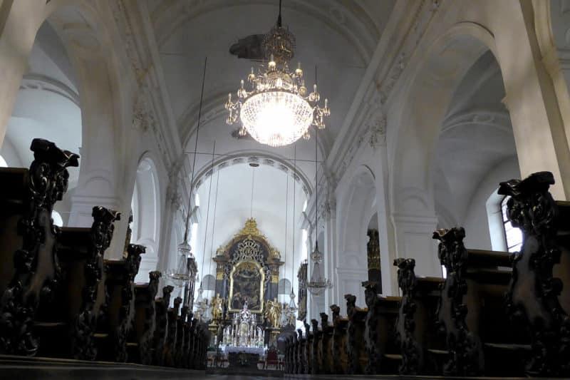 Der Langhaus der Mariahilferkirche