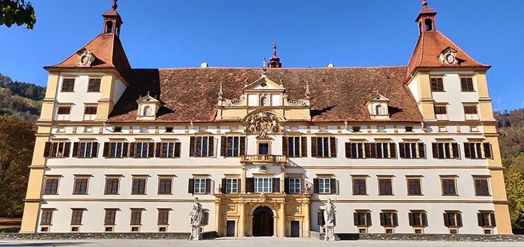 Schloss Eggenberg - Vorderansicht