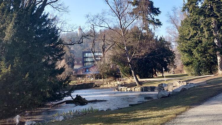 Der Ententeich im Grazer Stadtpark