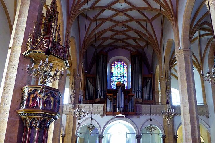 Die Orgel der Stadtpfarrkirche Graz