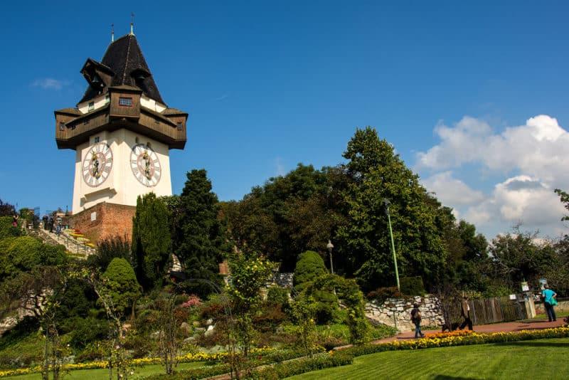 Der Grazer Uhrturm