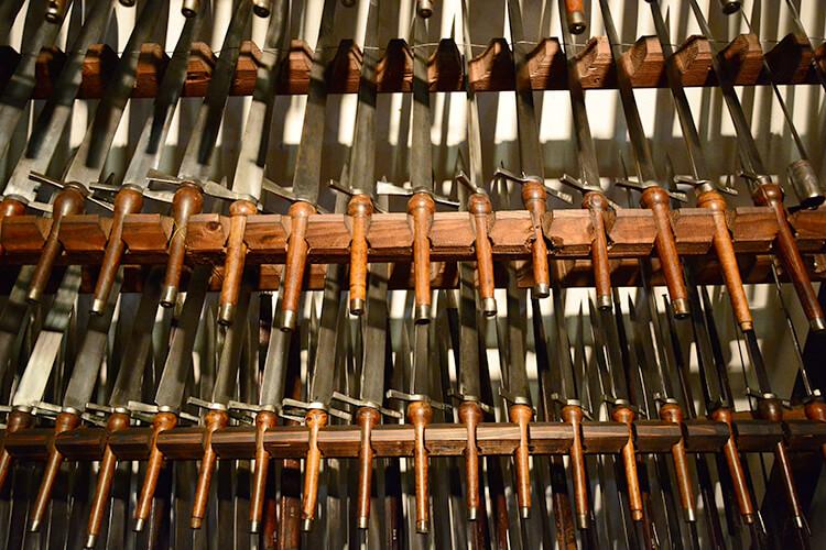 Schwerter im Landeszeughaus Graz