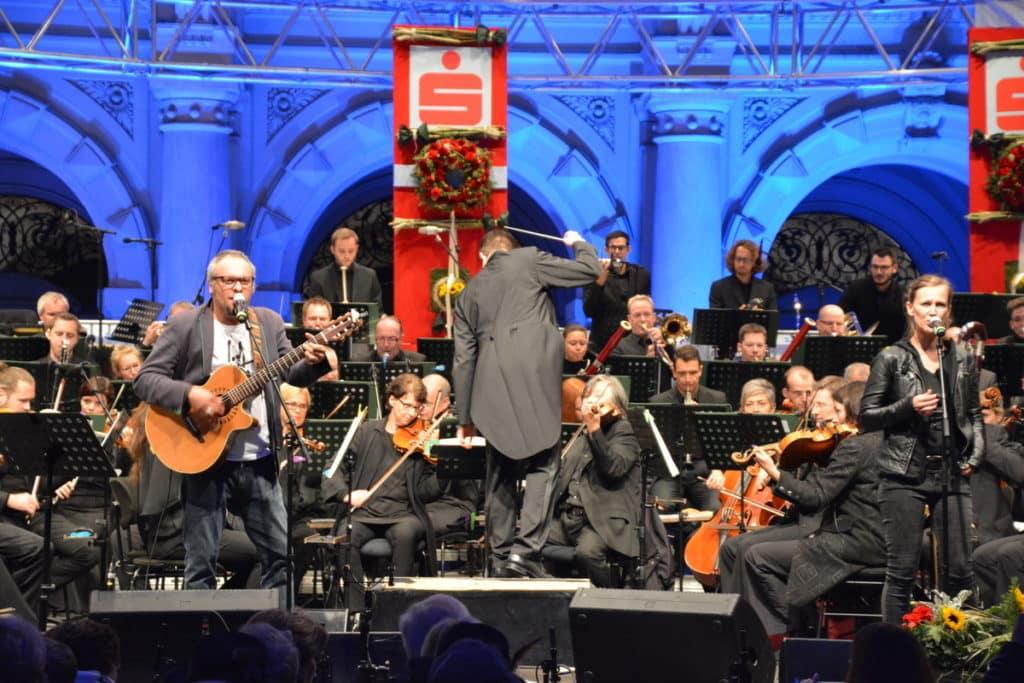 Im Jahr 2017 waren die Ausseer Hardbradler zu Gast am Grazer Hauptplatz (Dirigent Marcus Merkel)