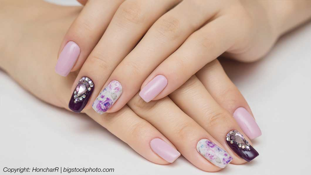 Nail Art - speziell designte Fingernägel