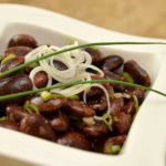 Käferbohnen Salat mit Kernöl