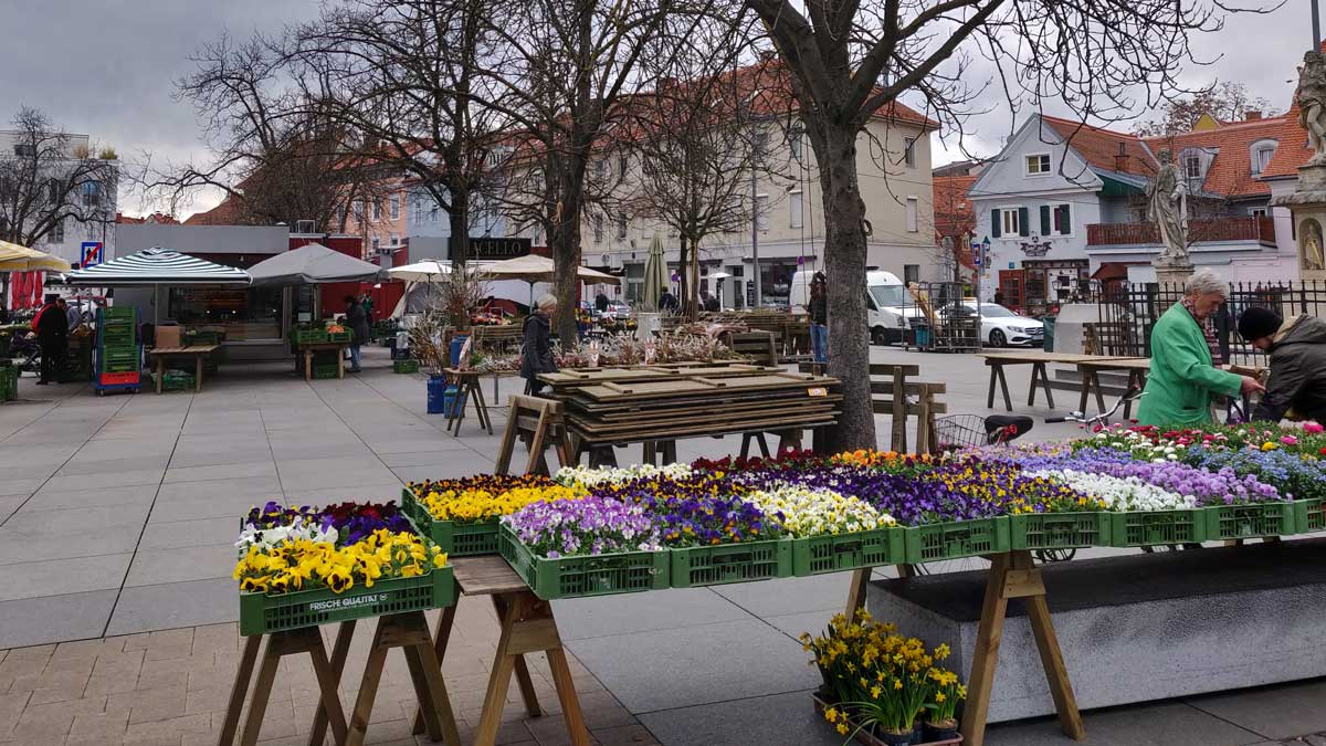 Bauernmarkt am Lendplatz
